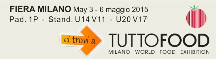 Find us at TUTTOFOOD